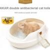 กระบะทรายแมว รุ่นทรงไข่ Makar