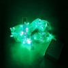 Led สีเขียว ไฟกระพริบ ริบบิ้น ยาว 9.5 เมตร