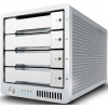 CalDigit T4 RAID Max Capacity: 4TB | Max Speed: 1375MB/s | Drive Module: SSD or HDD Interface: Dual Thunderbolt™ 2 Ports