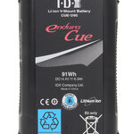 IDX CUE-D95 91Wh Li-ion V-Mount Battery with D-Tap output