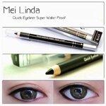 พร้อมส่ง Mei Linda Quick EyeLiner Super Water Proof อายไลเนอร์สูตรกันน้ำ สีดำสนิท ติดทนสุดๆ แห้งเร็วมาก สีคมเข้มเน้นๆ เขียนได้ทั้งขอบตาล่างและบน สุดฮิต ขายดีสุดๆ