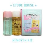 พร้อมส่ง Etude Remover kit 2 items เซ็ตทำความสะอาดใบหน้า ขนาดพกพา ทำความสะอาดได้อย่างหมดจด
