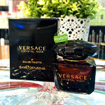 VERSACE Crystal Noir Absolu EDT 5 ml. กลิ่นหอมชั้นเลิศชวนหลงใหล หอมมากๆแนวเลิศหรูสุขุม สดใส แฝงไว้ด้วยความเย้ายวนสุดเซ็กซี่ โดดเด่น เย้ายวนใจ