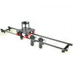 FILMCITY 4ft Track Roller Dolly With Tripod Adapters (FC-RLR-4-TA)