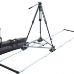 Proaim DSLR Swift Portable Magnetic Dolly with Track (16mm dia) and 100 mm Tripod Stand (P-SWFT-DSLR)
