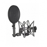 SM6 Shock Mount with Detachable Pop Filter