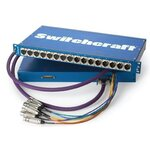Switchcraft PT16MX2DB25 Patchbay, 16XLR-M to DB25