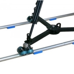 PROAIM™ TDL275 Dolly with 12ft Straight Track & Free 75mm Tripod Stand and Fluid Head (TDL-275)