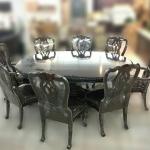 ชุดโต๊ะอาหาร CHARLOTTE 8 ที่นั่ง