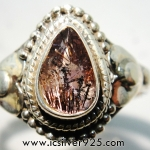 ซุเปอร์เซเว่น Super Seven 7 - แหวนเงินแท้ 925 (แหวนเบอร์ : 58)