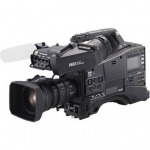 Panasonic AG-HPX600 Camcorder with AG-CVF15 Viewfinder and Fujinon XA16x8A-XB4 Lens