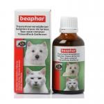 น้ำยาเช็ดคราบน้ำตาสุนัขและแมว Beaphar บีฟาร์ 50 มล.