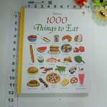 sbo Usborne _1000 things to eat
