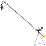 CAMTREE Ultimate Film Making Kit (Camtree Flylite 18Ft Jib Crane With Stand, Jr. Pan Tilt Head, D-27 Camera Dolly) (C-FLLT-ULT)