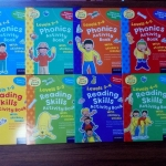 Reading Activity Collection - 8 Books (Collection)
