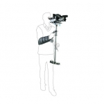 FLYCAM C5 - Carbon Fiber Stabilizer with Arm Brace Supporting Cameras weighing upto 6kg/13.2lbs