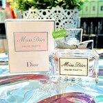 Dior Miss Dior EDT 5 ml. ให้ความรู้สึกร่าเริ่งอิสระและเบิกบานไปกับน้ำหอมกลิ่นดอกไม้ฤดูใบใบไม้ผลิ