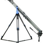 PROAIM 4ft Studio Jib Camera Crane with Tripod Stand, Dolly and Straight Track (P-4-TS-DT)