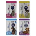 Cleartix spot on ยาหยดหลังป้องกันและกำจัดเห็บ หมัด สุนัขและแมว