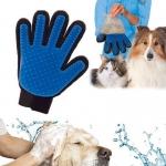 ถุงมือแปรงขนสุนัขและแมว True Touch