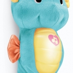 ของเล่นเด็กอ่อน ตุ๊กตาม้าน้ำสีฟ้า Fisher-Price