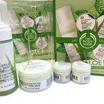 The Body Shop ALOE Calming Set for Sensitive Skin ชุดเซตบำรุงผิวหน้า อโลเวร่า สำหรับผิวบอบบาง แพ้ง่าย ปราศจากน้ำหอม