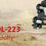 PROAIM DL-223 Spider Track Dolly Hybrid with Swivel and Slide Wheels (DL-223-TFW)