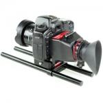 FILMCITY universal viewfinder with rod support (FC-VF-RS)