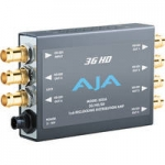 AJA 3GDA 1x6 3G/HD/SD-SDI Re-Clocking Distribution Amp with DWP