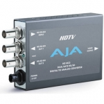 AJA HD10C2 HD/SD-SDI to Analog 10-Bit HD Converter