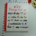sbo Usborne 1000 Things that go