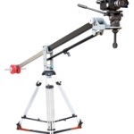 PROAIM 7' Wave DSLR Video Jib Crane with 100mm Tripod Stand (P-WAVE-TS)