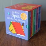 My First Spot Lift The Flap Library 10 Board Books Set by Eric Hill