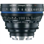 Zeiss Compact Prime CP.2 18mm f /3.6 T Canon EF Mount Lens