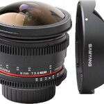Samyang 8mm T3.8 VDSLR Fish-Eye Lens