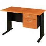 โต๊ะทำงาน 1.20 ม. พร้อมลิ้นชัก JDK-1202