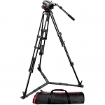 Manfrotto 504HD Head ,546GBK 2-Stage Aluminum Tripod System
