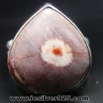 Mexican Bird Eye - แหวนเงินแท้ 925 (แหวนเบอร์ : 59 , 6.5g)
