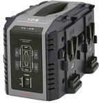 IDX VL-4S 4-Channel Fully Simultaneous V-Mount Battery Charger
