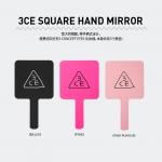 พร้อมส่ง 3CE Square Hand Mirror กระจกเก๋ๆ จาก 3CE น่ารักสุดๆ ผลิตจากวัสดุเกรดดี ทนทาน สวยงาม พกติดตัวหรือติดโต๊ะเครื่องแป้งเก๋ๆ