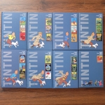 sbo The Adventures of Tintin - set 8 books