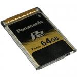 Panasonic AJ-P2E064FG 64GB F-Series P2 Memory Card พานาโซนิค เม็มโมรีการ์ด พี2 64 จีบี