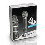 LDSYSTEMS USB / XLR DYNAMIC VOCAL MICROPHONE WITH HEADPHONE OUTPUT