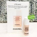 CHANEL Le Blanc Light Revealing Whitening Makeup Base SPF35 / PA +++ 2.5 ml. # 10 Rosee สีชมพูอ่อน เมคอัพเบส หน้าไบร์ทสว่างสดใสในขั้นตอนเดียว*พร้อมส่ง
