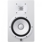 YAMAHA HS8W POWERED STUDIO MONITOR (Single, White)