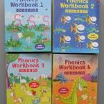sbo Phonics workbook level 1-4