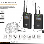 COMICA CVM-WM100 UHF(794MHz~806MHz) 48-Channels Wireless Microphone