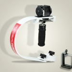 FLYCAM Flyboy-III DSLR Stabilizer With GoPro / IPhone Adapter Supporting Cameras weighing upto 800gm / 1.8lbs