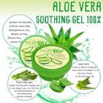 พร้อมส่ง Aloe vera soothing gel 100% by Nature Perfect 50 g. เจลว่านหางจระเข้
