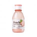 พร้อมส่ง Skinfood Premium Peach Cotton Emulsion 140ml. อีมัลชั่นบำรุงผิว สารบำรุงจาก Peach Extract พีชสกัดเข้มข้น 10% ช่วยควบคุมความมัน ลดการผลิตน้ำมัน ดูดซับไขมันได้ดี ให้ผิวเรียบเนียนลื่นเหมือนผิวของลูกพีช